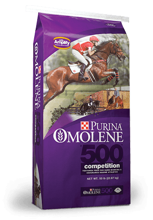 Purina® Omolene #500® Competition Horse Feed