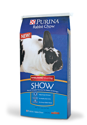 Purina® Rabbit Chow® Show Wholesome AdvantEdge