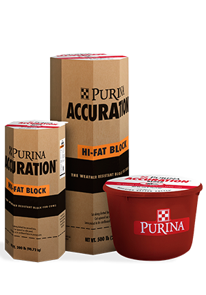 Purina® Accuration® Hi-Fat Block