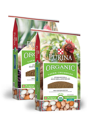 Purina® Organic Layer Pellets or Crumbles