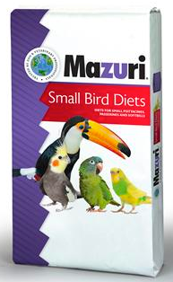Mazuri® Small Bird Maintenance Mini Diet