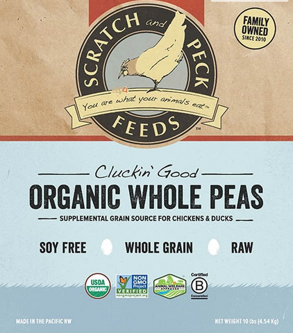 Cluckin' Good Organic Whole or Cracked Peas