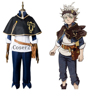 Black Clover Asta Bull Cosplay Costume Halloween Costume