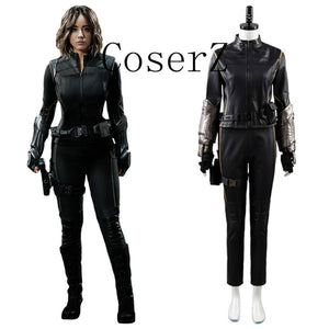 Agents of Shield S.H.I.E.L.D Skye Quake Daisy Johnson Cosplay Costume
