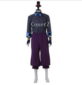 Anime Divine Gate Loki Cosplay Costume Halloween Costume