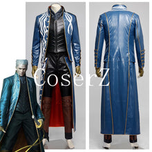 Devil May Cry 3 Vergil Cosplay Costume Halloween Costume