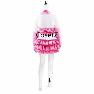 Anime Super Sonic Pink Cosplay Costume Halloween Costume