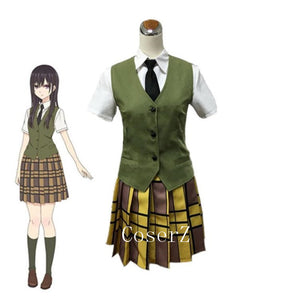 Anime Citrus  Aihara Mei Cosplay Costume  School Uniforms Halloween Costume