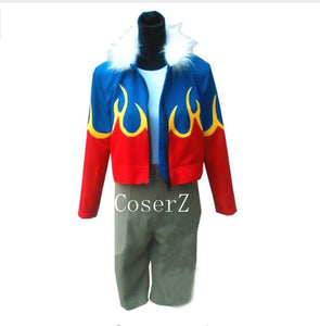 Digimon Adventure Digital Monster Daisuke Motomiya Davis Cosplay Costume