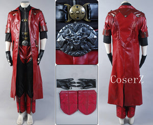 Devil May Cry IV 4 Dante Cosplay Costume Halloween Costume