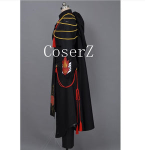 Code Geass Lelouch Cosplay Code Geass Lelouch of the Rebellion Code Black in Ashford Cosplay Costume