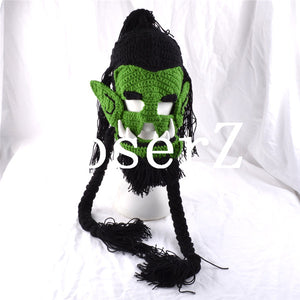 World of Warcraft cosplay Thrall Beanies hats & caps