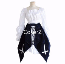 Anime Peach-Pit Rozen Maiden Mercury Lamp Uniform Cosplay Costume