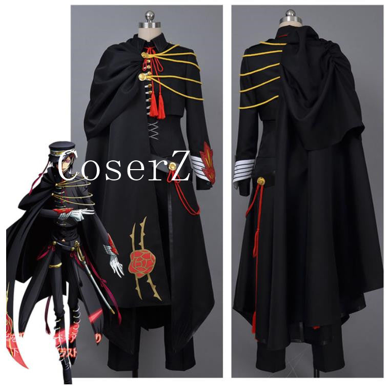 Code Geass Lelouch Cosplay Code Geass Lelouch of the Rebellion Code Black in Ashford Cosplay Costume ... : lelouch cosplay costume  - Germanpascual.Com