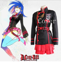D.Gray-man Linali Lenalee Cosplay Costume Halloween Costume