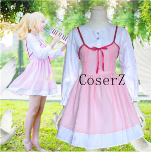 Your Lie in April Cosplay Shigatsu wa Kimi no Uso Kaori Miyazono First episode Cosplay Costume