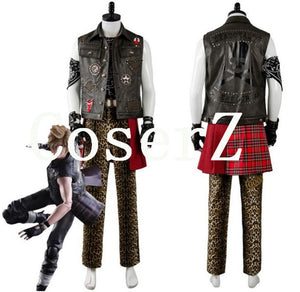 Final Fantasy XV FF15 Prompto Argentum Cosplay Costume