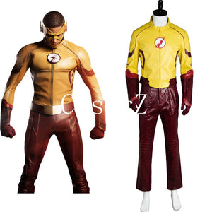 Young Justice Season 2 Flash Outfit Carnival Cosplay Costume