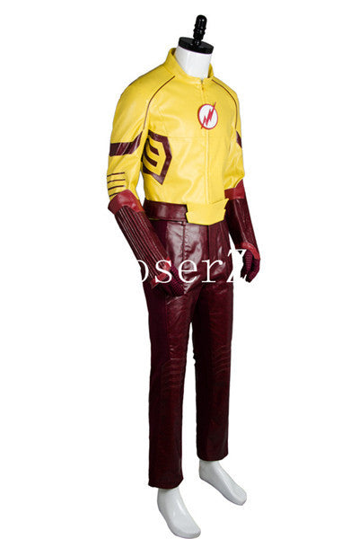 young justice season 2 flash outfit carnival cosplay costume coserz
