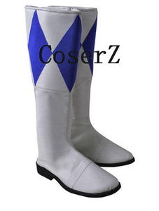 Power Ranger Blue Ranger Jumpsuit Tricera Ranger Dan Cosplay Custome