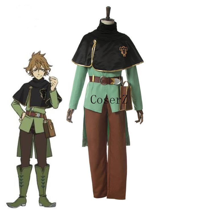 Anime Black Clover Finral Roulacase Cosplay Costume Halloween Costume