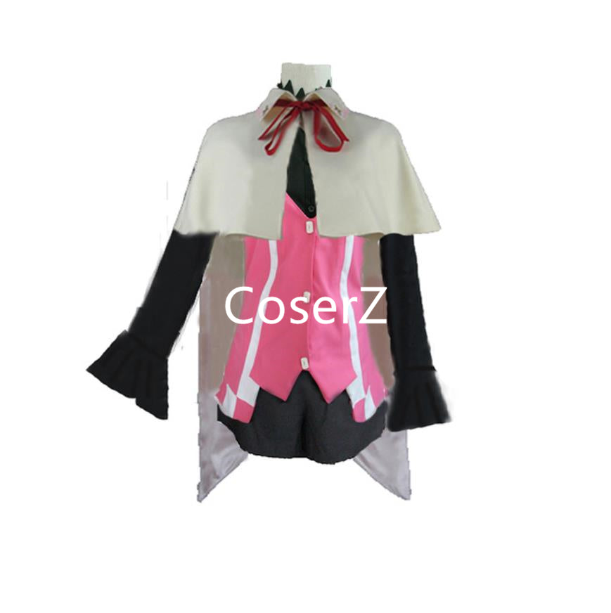 Anime Tales of Zestiria Alisha Cosplay Costume