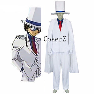 Detective Conan Kaito Costume Kid Halloween Cosplay Costume