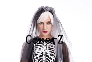 Corpse Bride Costume Ladies Joker Cosplay Costume