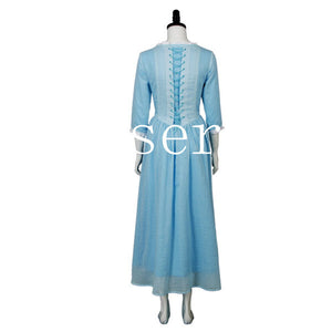 Pirates of the Caribbean 5 Dead Men Tell No Tales Carina Smyth Dress Cosplay Costume
