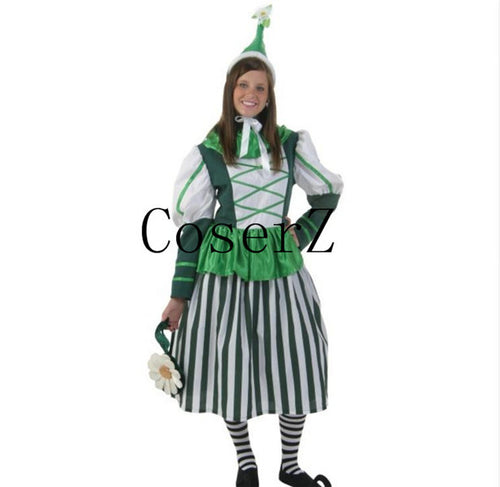 The Wizard Of Oz Series witch Fairy Elf Cosplay Costumes