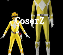 Power Ranger Boy  Rangers Cosplay Yellow Ranger Boi Cosplay Costumes