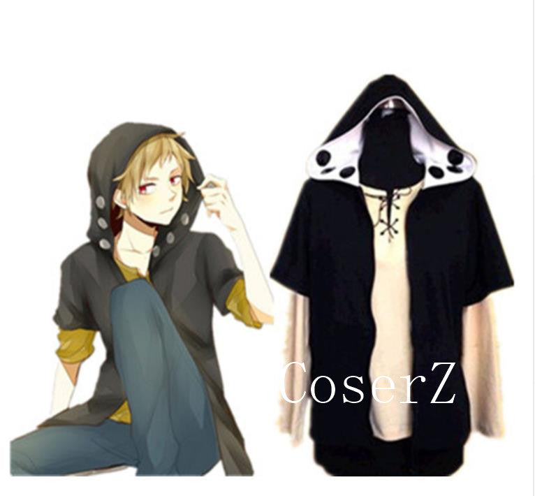 Kagerou Project Kano Hoodie Cosplay Costume Halloween Costume
