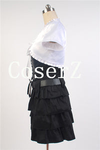 Final Fantasy XV 15 Stella Nox Fleuret Outfit Attire Dress Skirt Cosplay Costume