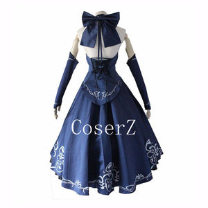 Anime Fate Stay Night Alter Saber Cosplay Costume