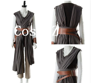 Star Wars Rey Cosplay Costume Adult Women Cosplay Costume