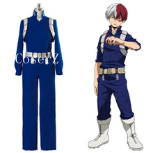 Boku My Hero Academia S2 Shoto Shouto Todoroki Battle Suit II Cosplay Costum