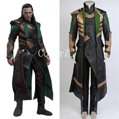 Thor The Dark World Loki Costume full set Cosplay Costume