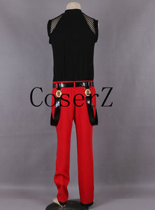 The King of Fighters 98 Rugal Fighting Uniform Game Cosplay Costume