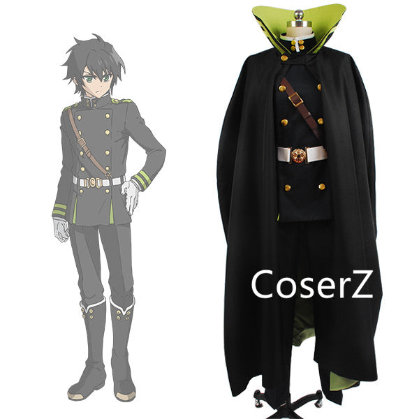 Copy of The end of the Seraphim Yuichiro Hyakuya Uniform  Cosplay Costume
