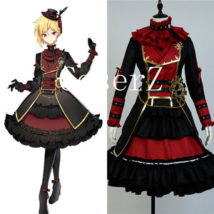 Ensemble Stars Nazuna Nito Genderbend Girl's Version Cosplay Costume
