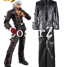 The King of Fighters 99 K DASH Black Game Cosplay Costume