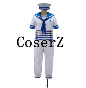 Free! Iwatobi Swim Club sailor navy suit Uniform Cosplay Costume