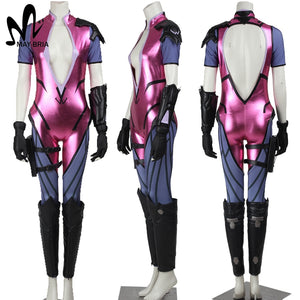 OW cosplay Amelie Lacroix widowmaker cosplay costume Halloween costumes for women Adult sexy widowmaker jumpsuit
