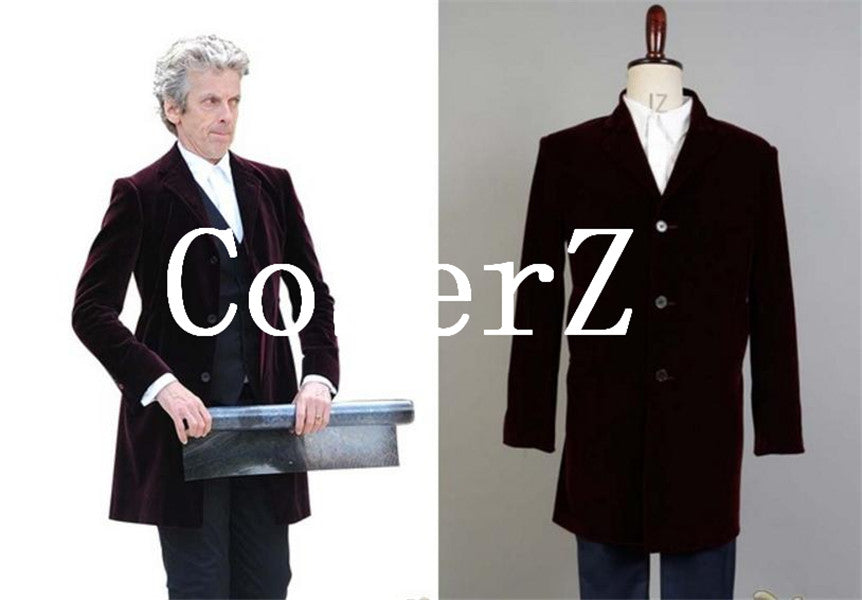 Doctor Who Peter Captain Cosplay Costume