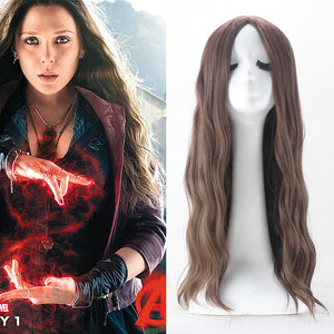 Scarlet Witch Wig, Avengers Age of Ultron Wanda Maximoff Cosplay Wig