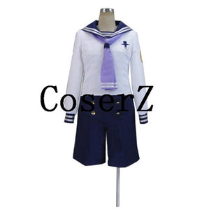 Free! Iwatobi Swim Club Rei Ryugazaki sailor suit Uniform Cosplay Costume