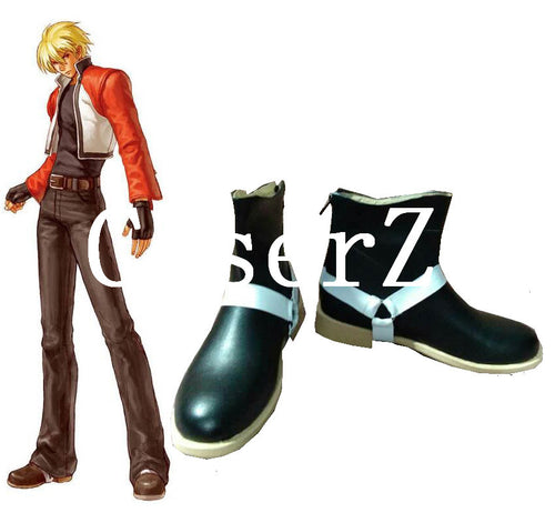 The King of Fighters accessory ROCK HOWARD Cosplay Shoes