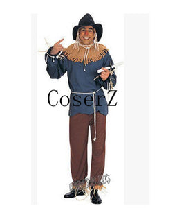 The Wizard of OZ Scarecrow Cosplay Costume