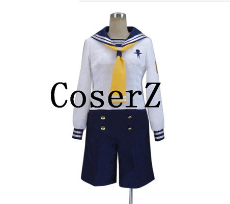 Free! Iwatobi Swim Club Nagisa Hazuki sailor suit Uniform Cosplay Costume