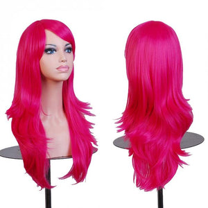 Women's Colorful Cosplay Curly Wigs